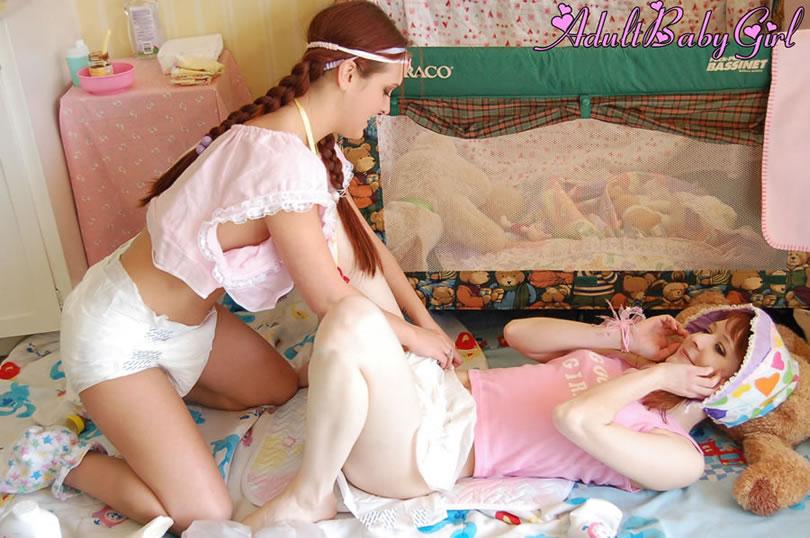 Girls baby captions diaper